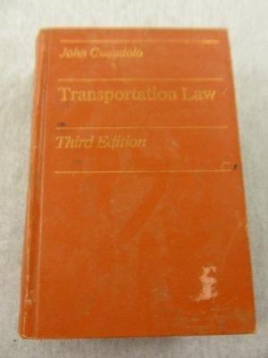 9780697085139: Transportation law