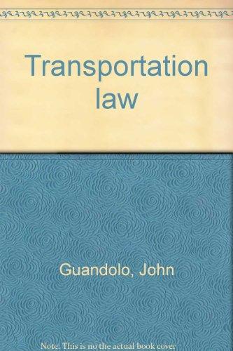 9780697085160: Transportation law