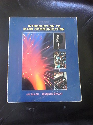 9780697085894: Introduction to Mass Communication
