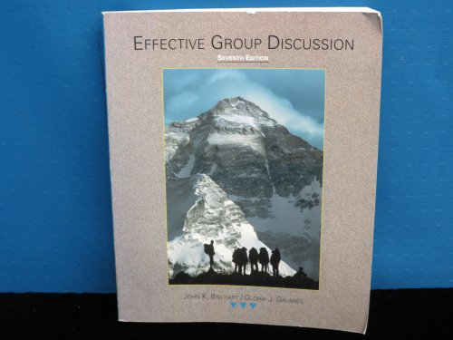 9780697086389: Effective Group Discussion, 7th Edition