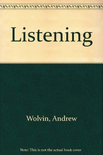 Listening: Andrew Wolvin, Carolyn