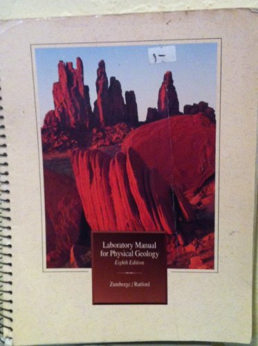 9780697098443: Laboratory Manual for Physical Geology