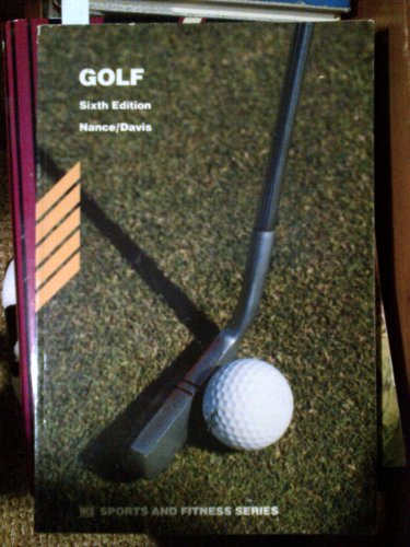 9780697104151: Golf (WCB sports and fitness series)