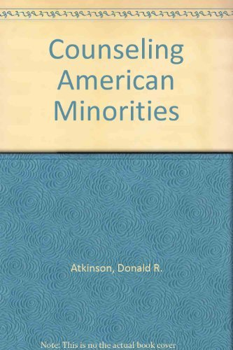 9780697104441: Counseling American Minorities: A Cross-Cultural Perspective