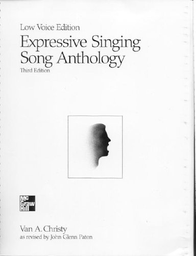 9780697106841: Expressive Singing Song Anthology Low Voice Edition