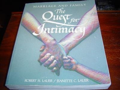 9780697107398: Marriage and Family: The Quest for Intimacy