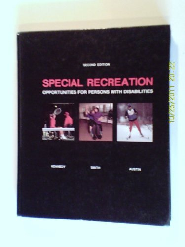 9780697109651: Special Recreation: Opportunities for Persons With Disabilities