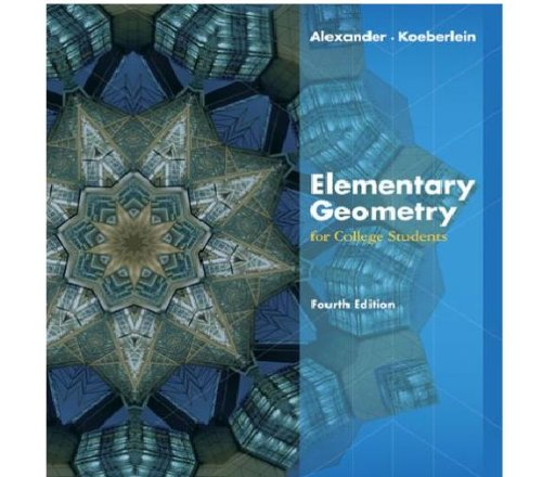 9780697110671: Elementary Geometry for College Students