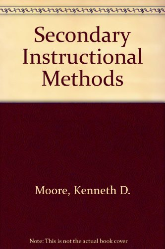 Secondary Instructional Methods