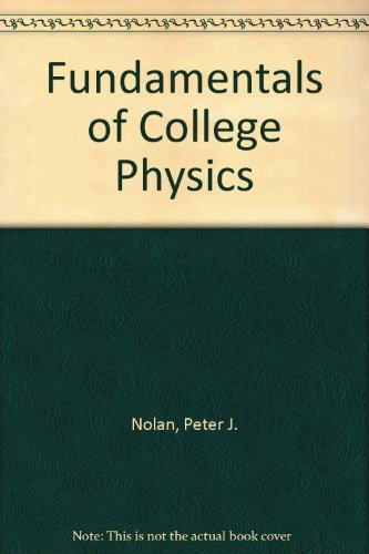 9780697121455: Fundamentals of College Physics