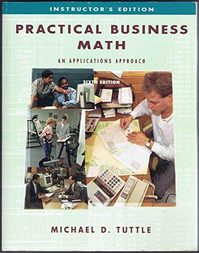 9780697124500: Practical Business Math