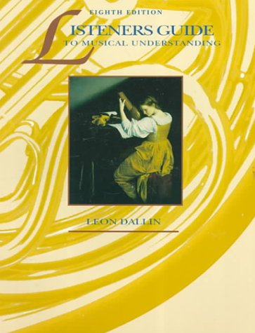 9780697125095: Listeners Guide To Musical Understanding