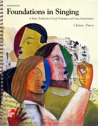 9780697125668: Foundations In Singing:A Basic Textbook In Vocal Technique and Song Interpretation
