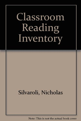 9780697125866: Classroom Reading Inventory