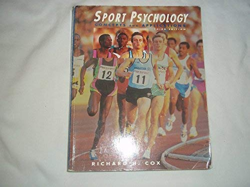 9780697126214: Sport Psychology: Concepts and Applications