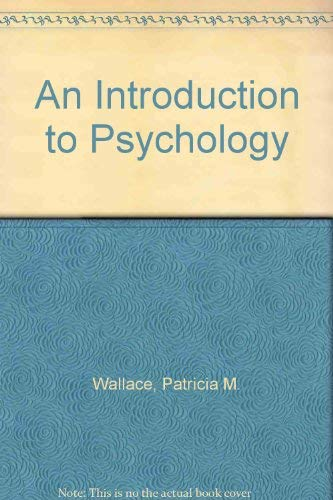 9780697127570: An Introduction to Psychology