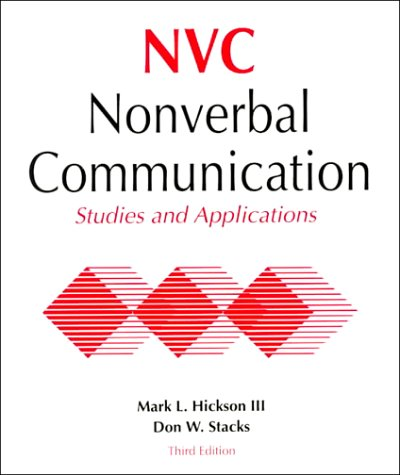 9780697129253: Nonverbal Communication: Studies and Applications