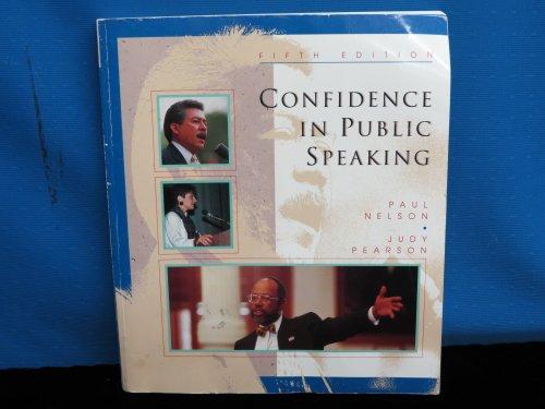 9780697129345: Confidence in Public Speaking