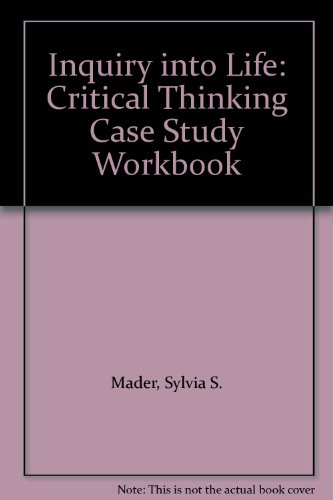 9780697131690: Inquiry into Life: Critical Thinking Case Study Workbook