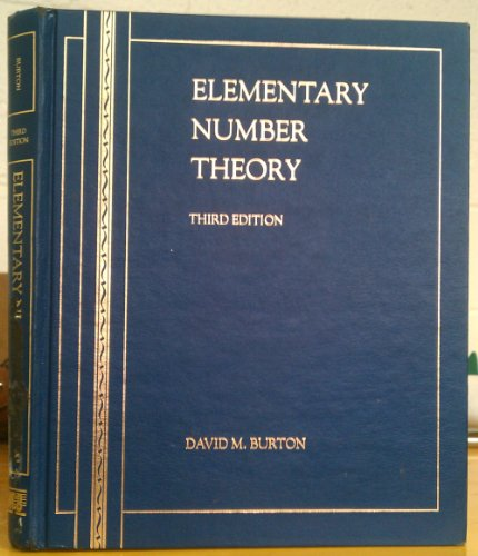 9780697133304: Elementary Number Theory