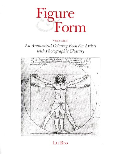 9780697137579: Figure and Form, Volume II: An Anatomical Coloring Book for Artists with Photographic Glossary