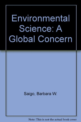 9780697138026: Environmental Science: A Global Concern