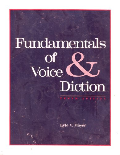 9780697139320: Fundamentals of Voice & Diction
