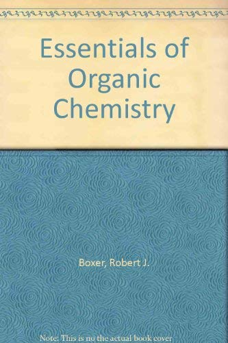 9780697140609: Essentials of Organic Chemistry