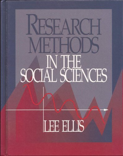 9780697142481: Research Methods in the Social Sciences