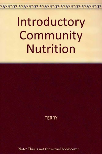 Introductory Community Nutrition