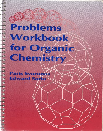 9780697145512: Problems Workbook for Organic Chemistry