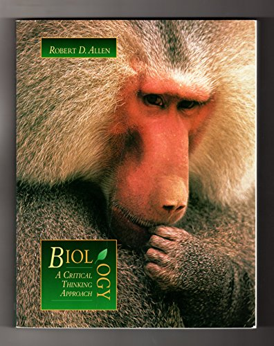 9780697147493: Biology: A Critical Thinking Approach