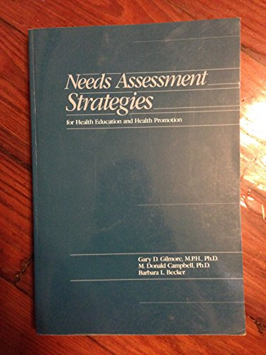 9780697148148: Needs Assessment Strategies for Health Education and Health Promotion