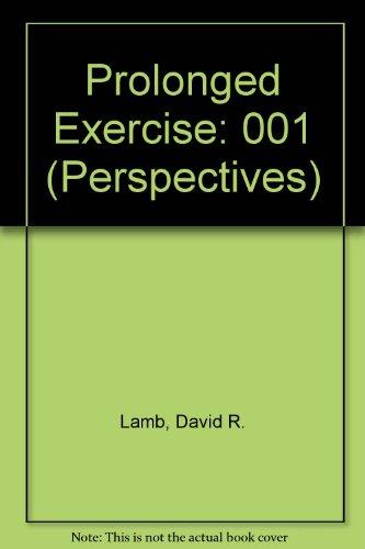 Prolonged Exercises (Perspectives Ser): Lamb