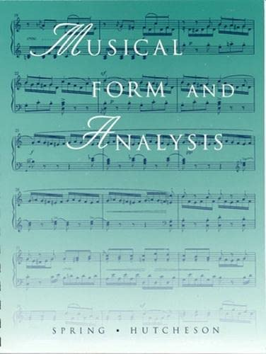 9780697153678: Musical Form and Analysis