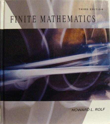 9780697161710: Finite Mathematics