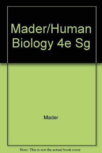 Human Biology: Mader, Sylvia S.