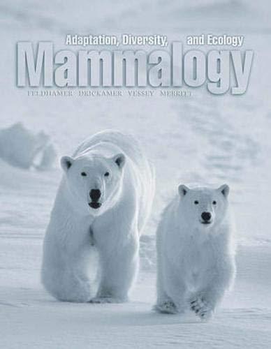 9780697167330: Mammalogy: Adaptation, Diversity and Ecology
