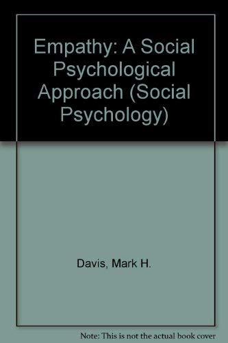 9780697168948: Empathy: A Social Psychological Approach (Social Psychology)