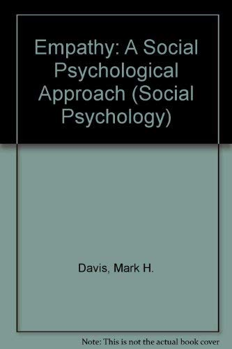 9780697168948: Empathy: A Social Psychological Approach (Social Psychology)
