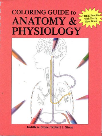 9780697171092: A Coloring Guide to Anatomy & Physiology
