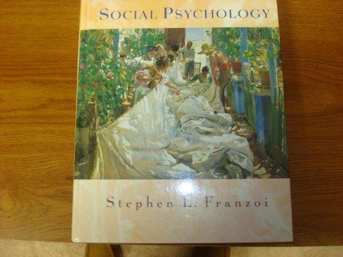 9780697174727: Social Psychology