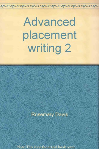 9780697175670: Advanced placement writing 2: Strategies for honors, gifted and AP students
