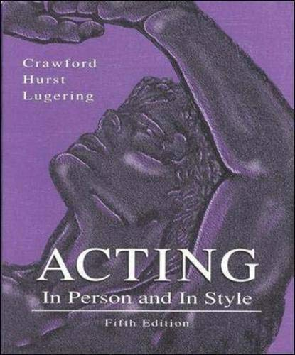 9780697201331: Acting: In Person and In Style