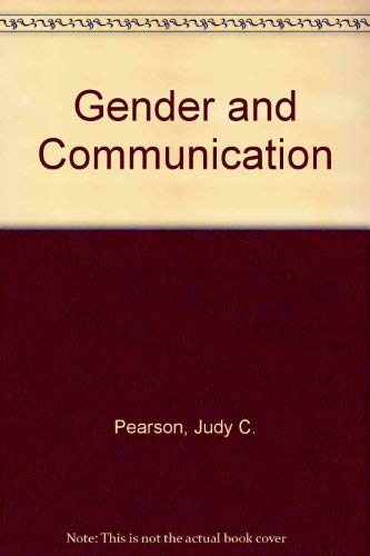 9780697201546: Gender and Communication