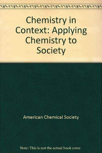 9780697219480: Chemistry in Context: Applying Chemistry to Society