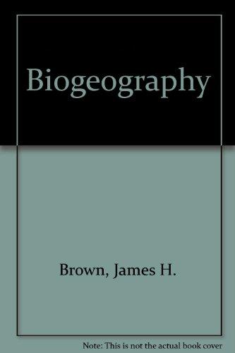 9780697234797: Biogeography