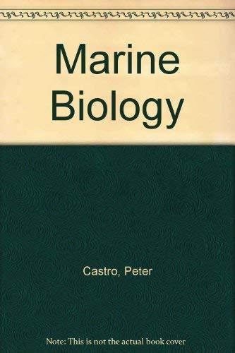 9780697234803: Marine Biology