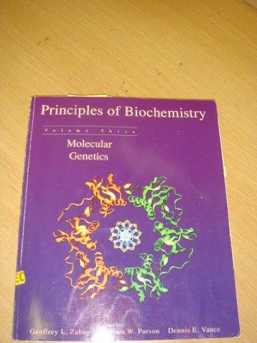 9780697241726: Principles of Biochemistry