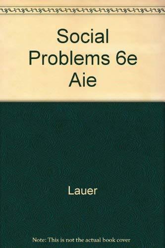 Social Problems 6e Aie: Lauer